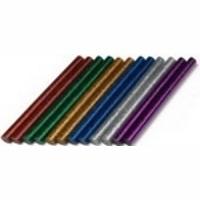 Dremel GG04, клеевые стержни цветные с блестками, 7 мм