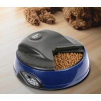 Автокормушка для кошек и собак SITITEK Pets Ice Mini (Dark blue) с ЖК дисплеем